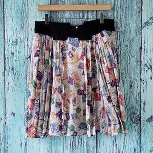 Anthropologie Skirts - Anthropologie Airmail Skirt by Edme & Esyllte